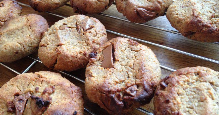 Secret ingredient peanut butter cookies (GF,V,VG)