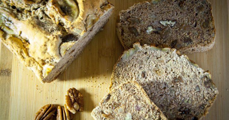 The wonders of buckwheat and the Best Banana Bread Recipe (GF,V,VG)