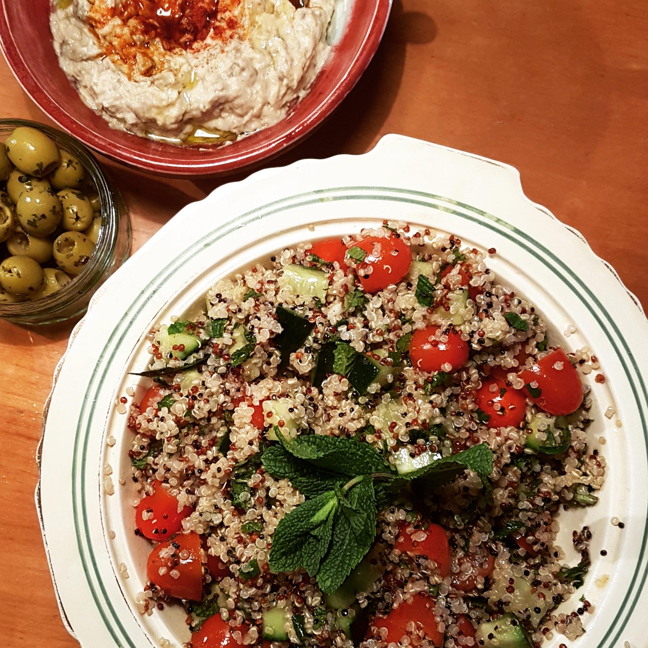 Quinoa Tabbouleh (GF, V, VG, NF)
